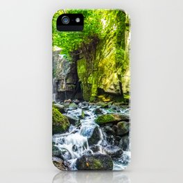 Waterfall. iPhone Case
