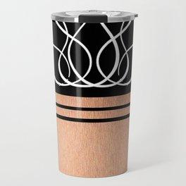 The Lux: Rose Gold Travel Mug