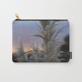 Pampas Grass & Sunset Carry-All Pouch