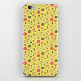 Old Fashioned Boiled Sweets by Chrissy Curtin iPhone Skin