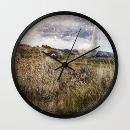Spirit of the Past Wall Clock