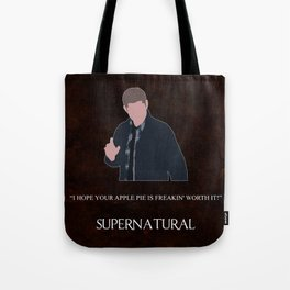 Supernatural - Dean Winchester Tote Bag