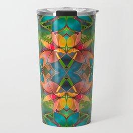 Floral Fractal Art G23 Travel Mug