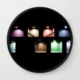 Light Cubes Wall Clock