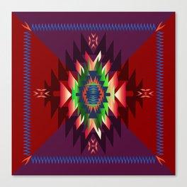 southwest dream in wine Canvas Print