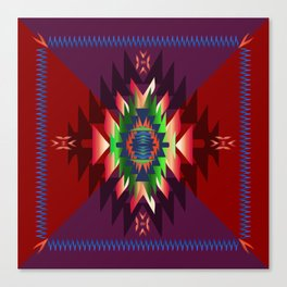southwest dream in wine Canvas Print