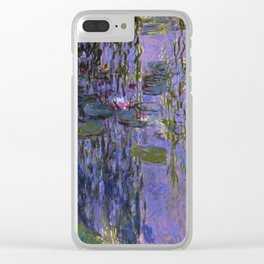 Claude Monet - Water Lilies 1919 Clear iPhone Case
