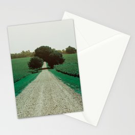 Best Farm Tree Turquoise Stationery Cards