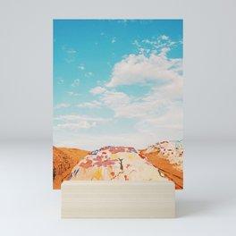 Salvation Mountain / California Desert Mini Art Print