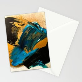 24k Black Sea Stationery Cards
