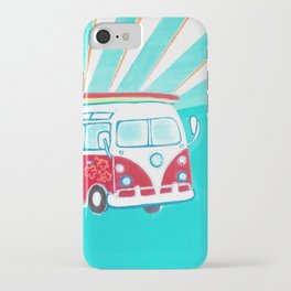 Surfer Sunrise iPhone Case