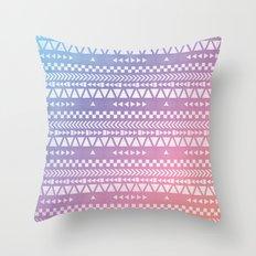Tribal Pattern Throw Pillow
