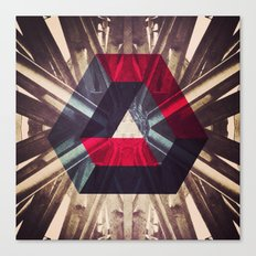 Isometric symmetry Canvas Print
