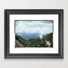 Montserrat, Barca Framed Art Print