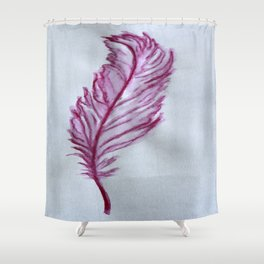 Feather in the Wind Shower Curtain