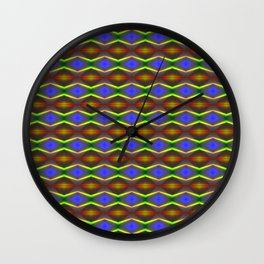 RGB - Optical Series 002 Wall Clock