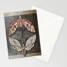 The circle of the moths Stationery Cards