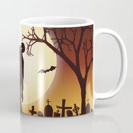 Halloween Scene Zombie Coffee Mug