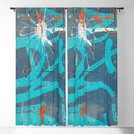 Graffiti Blackout Curtain