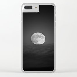 Moon equilibrium. BN Clear iPhone Case