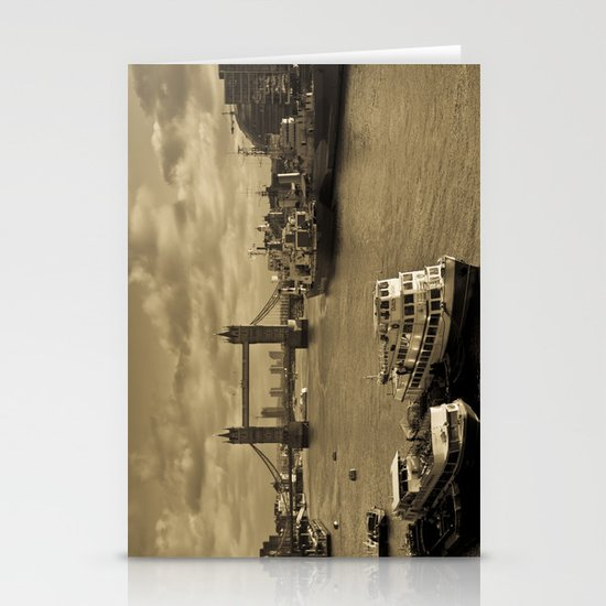 River Thames View Stationery Cards