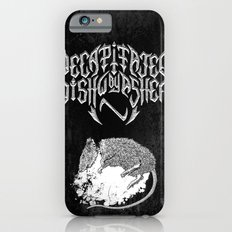 Decapitated by dishwasher II (black) iPhone 6s Slim Case