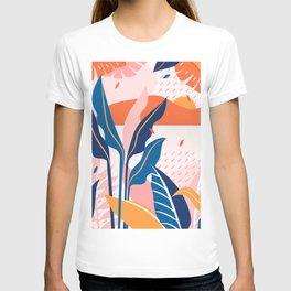 Tropical Pop Art Design T-shirt