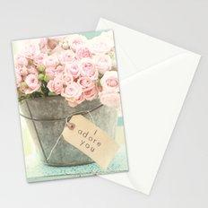 I adore you Stationery Cards