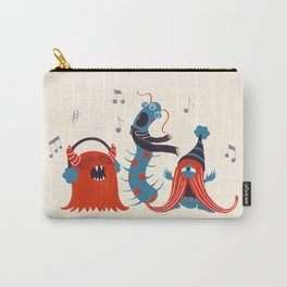 Three Monsters Singing Carry-All Pouch