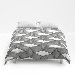Trapez 5/5 grey pencil sketch by Brian Vegas Comforters