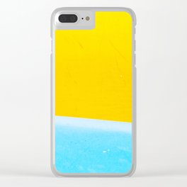 Sea & Sand Watercolor painting Abstract Clear iPhone Case