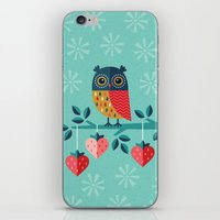 jazzberry iPhone & iPod Skins featuring OWL ALWAYS LOVE YOU by Daisy Beatrice