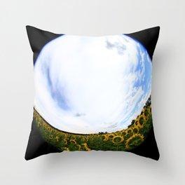 Sunflower 10 Throw Pillow