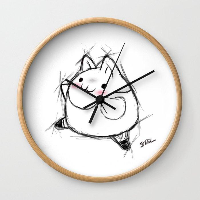 Dance dance Kawaii Wall Clock