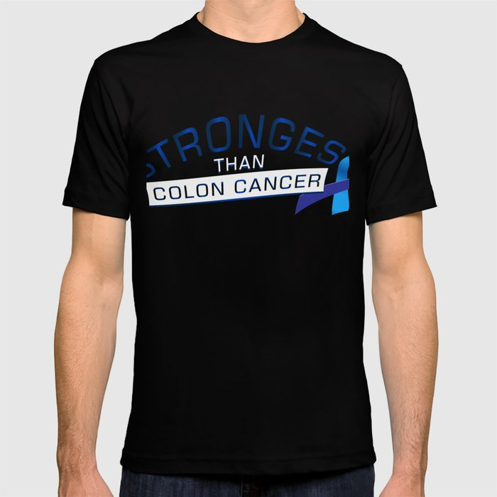Stronges Colon Cancer Awareness Gift T Shirt By Aombin Society6