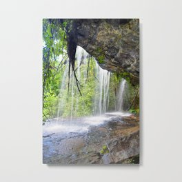 Issaqueena Falls Metal Print