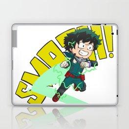 Deku - Full Cowl Smash! Laptop & iPad Skin