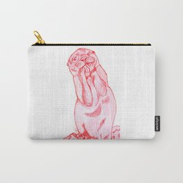 Pink otter Carry-All Pouch
