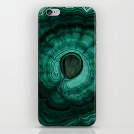 Earth treasures - Malachite iPhone Skin