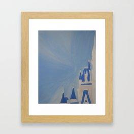 The Castle Framed Art Print