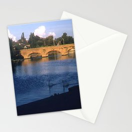 England Art Print * Vintage Photo * 1950's * Stratford upon Avon * Bridge * Kodachrome Stationery Cards