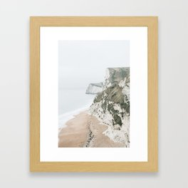 Sea Cliffs Framed Art Print