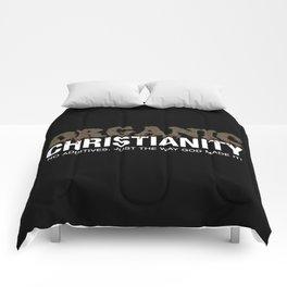 Organic Christianity Comforters