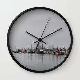 Across The Bay Wall Clock