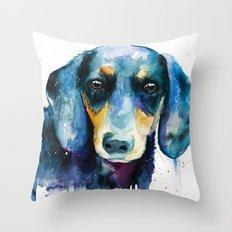 Dachshund 2 Throw Pillow