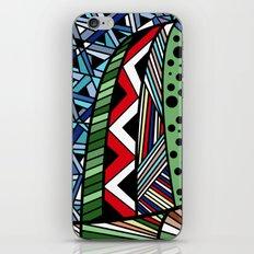 IT'S RAINING COLORS! (abstract geometric) iPhone & iPod Skin
