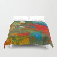 the moon Duvet Covers featuring Moon by haroulita