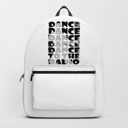 Transmission B/W Joy Division Backpack