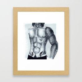 New Tattoo Framed Art Print