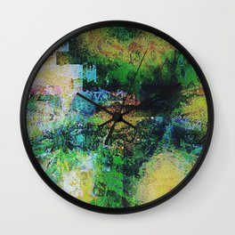 Reticent Wish Wall Clock
